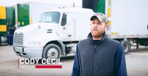 Cody Cecil-Sisbro Truck Driver