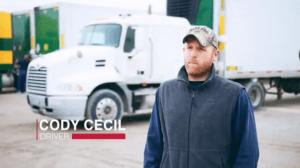 driver Cody Cecil