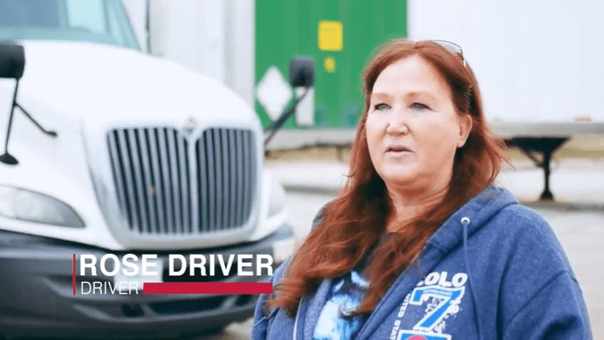 Rose Driver Semi Truck Driver-Sisbro Inc