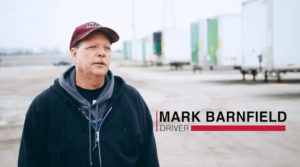 Mark Barnfield Truck Driver-Sisbro Inc.