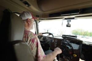 driving a Sisbro truck