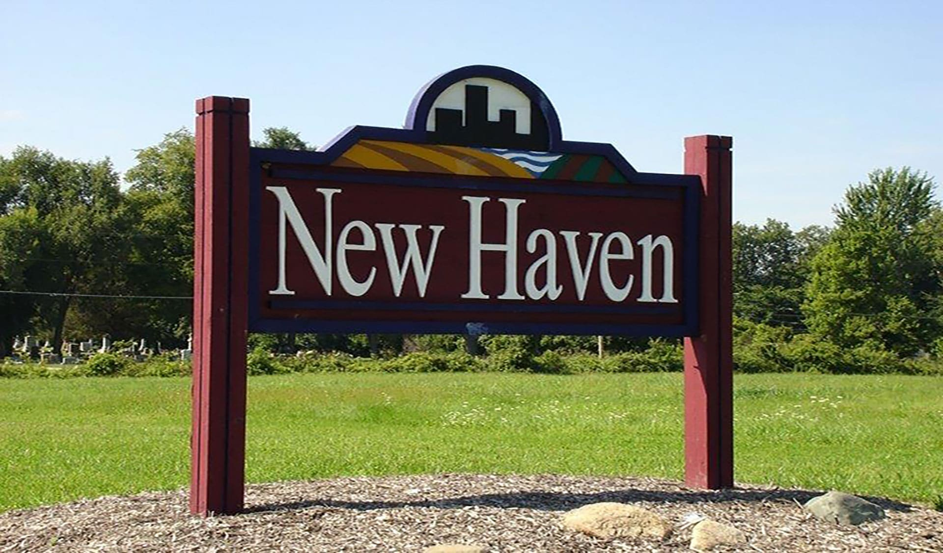 New Haven Welcome Sign