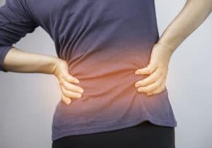 Back pain flaring up