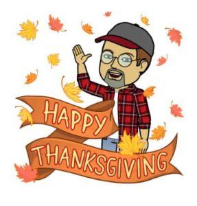 Sisbro Bob - Happy Thanksgiving