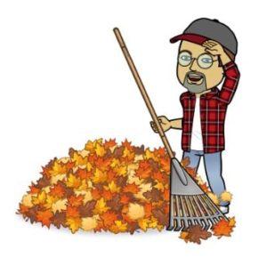 Sisbro Bob Raking Leaves