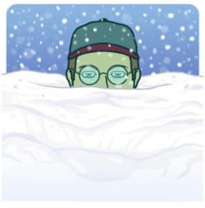 Buried Snow